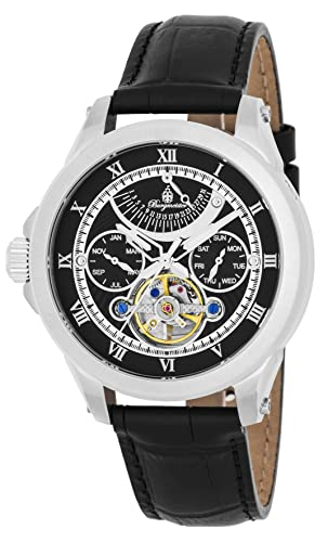 Burgmeister reloj caballero automático Colorado Springs, BM350-122, reloj zurdo: Amazon.es: Relojes