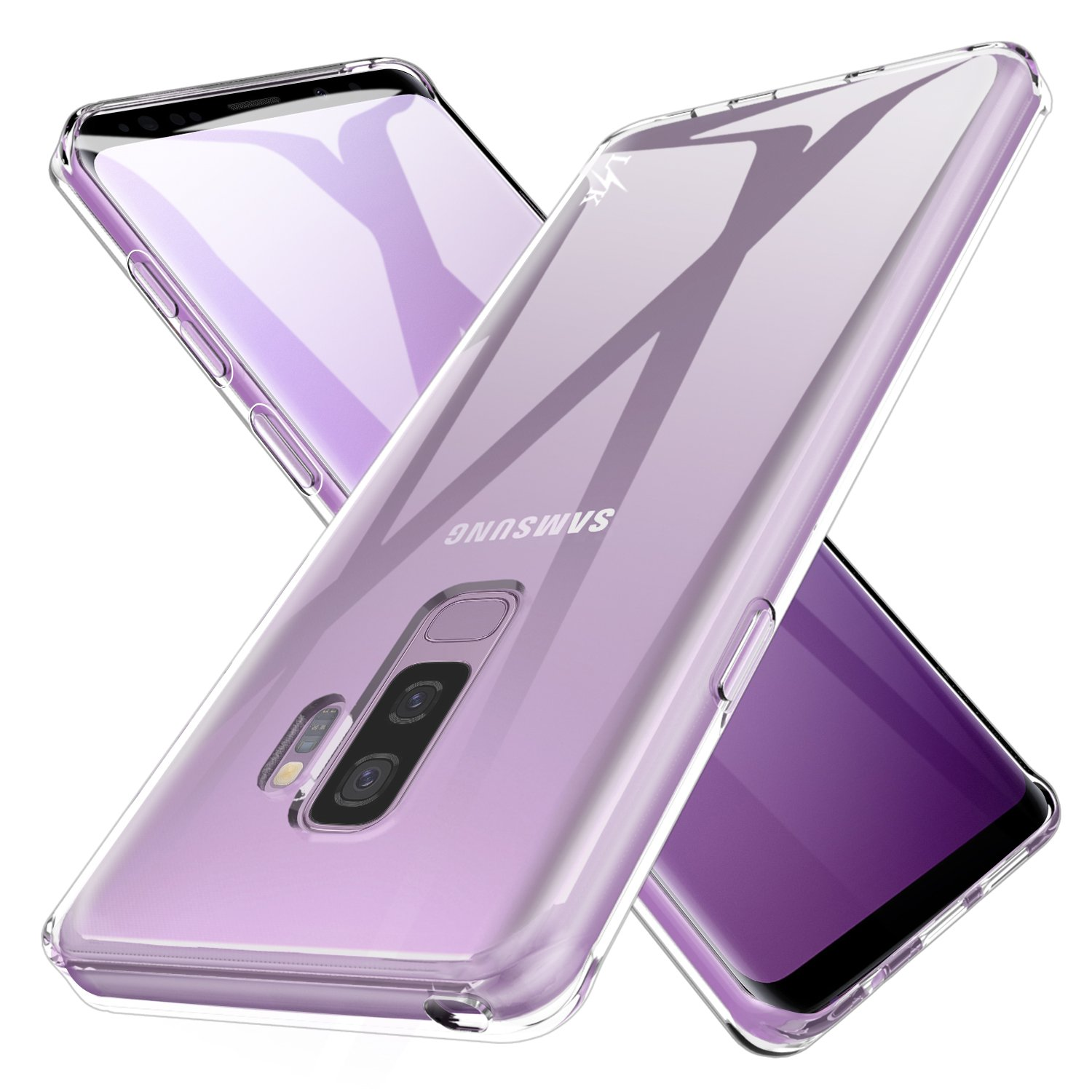 100% authentic 58805 becdb LK Case for Galaxy S9 Plus, Ultra [Slim Thin] Crystal Clear TPU Rubber Soft  Skin Silicone Protective Case Cover for Samsung Galaxy S9 Plus (Clear)