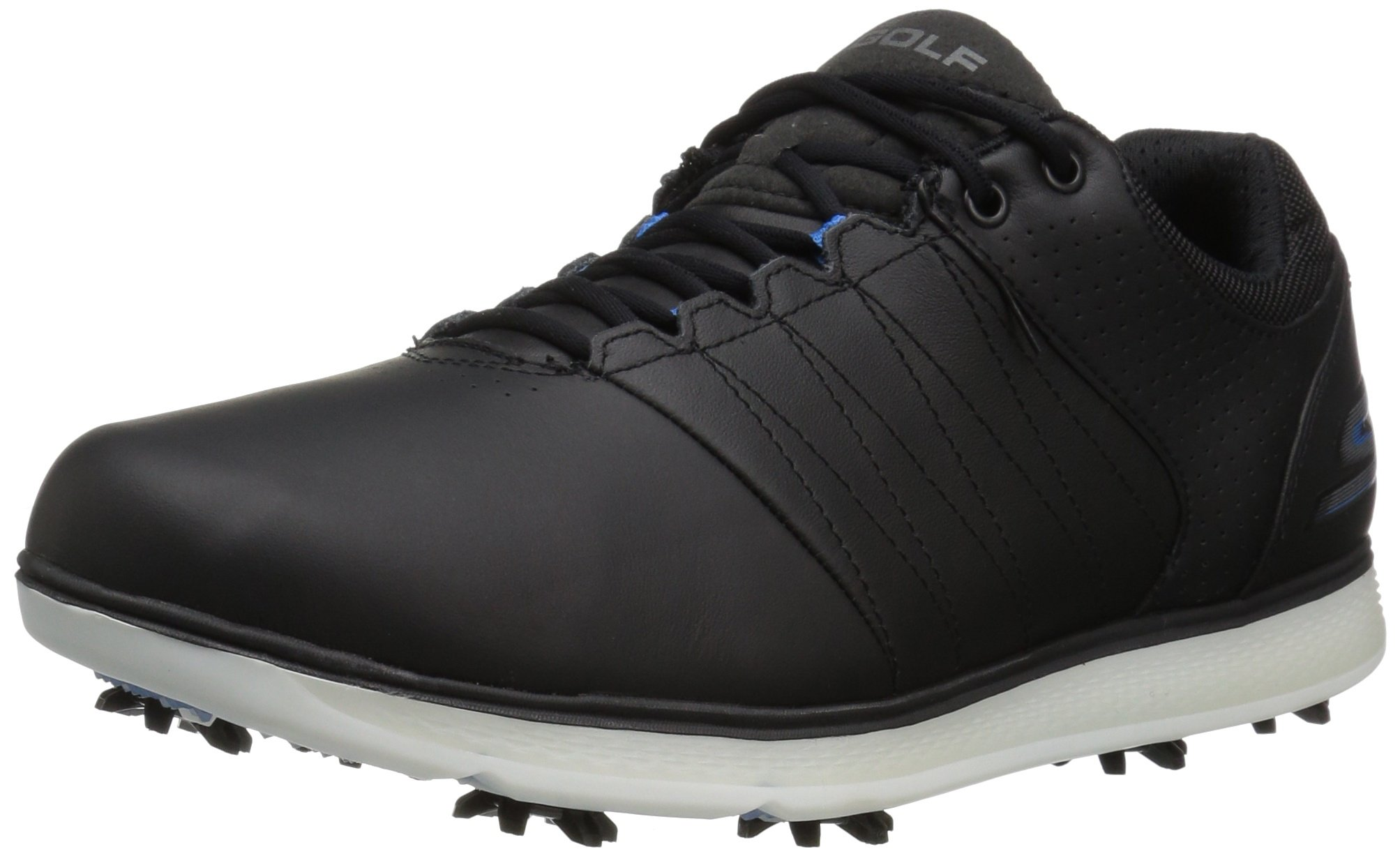 Skechers Performance Men's Go Golf Pro 2 Golf Shoe,Black/Blue,9 M US by Skechers