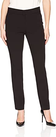 Lark & Ro Amazon Brand Women's Straight Leg Trouser Pant: Classic Fit