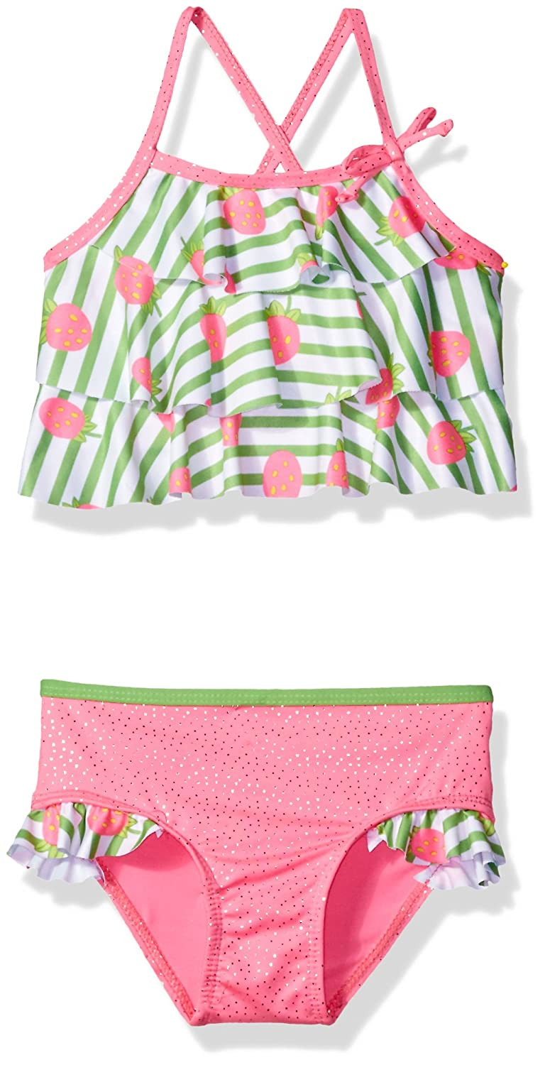 Wippette Baby Girls' Strawberry Rashguard Set WG689070