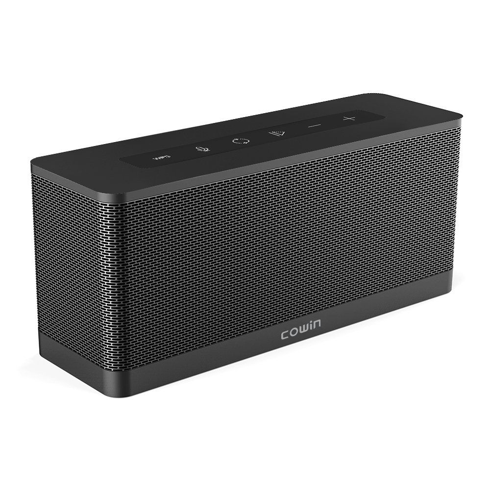 COWIN 3119 Portable WiFi Bluetooth Speaker with Amazon Alexa, Multi Room Audio Speaker for Music Streaming, Powerful Sound with Enhanced Bass, 12 Hours Battery Life, Airplay Spotify iHeart Radio by cowin