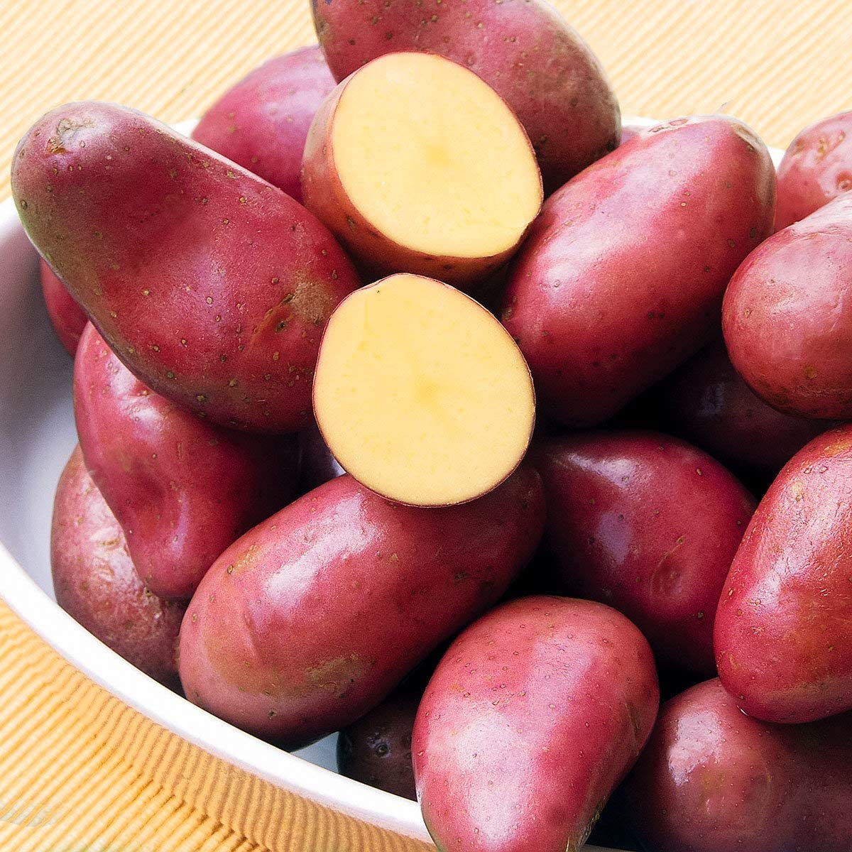 Garden Rare 100pcs Organic Potato 'Red Pontiac' Seeds Easy to Grow, Exotic Vegetable Seeds Hardy Perennial Garden