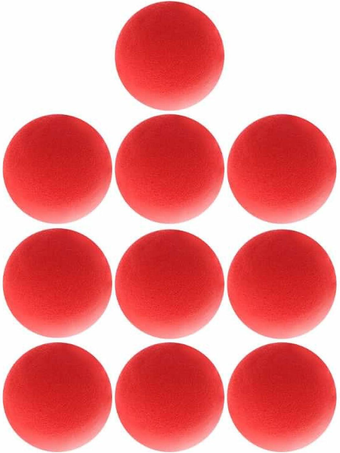 Superior ZRL/® Rot Schwamm Soft Ball Nahaufnahmen Magic Street klassischen Comedy Trick Requisiten 4,5/cm