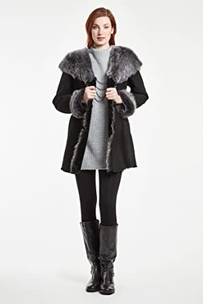 5f6ae3617ee Image Unavailable. Image not available for. Color  Blue Duck Shearling ...