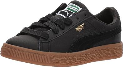 PUMA Kids' Basket Classic Gum Deluxe Sneaker