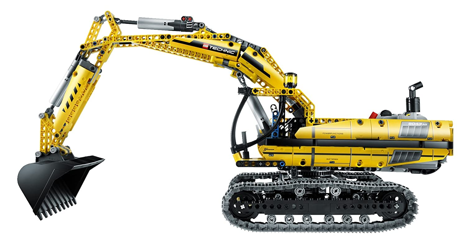 lego technic excavator 8043 images galleries with a bite. Black Bedroom Furniture Sets. Home Design Ideas