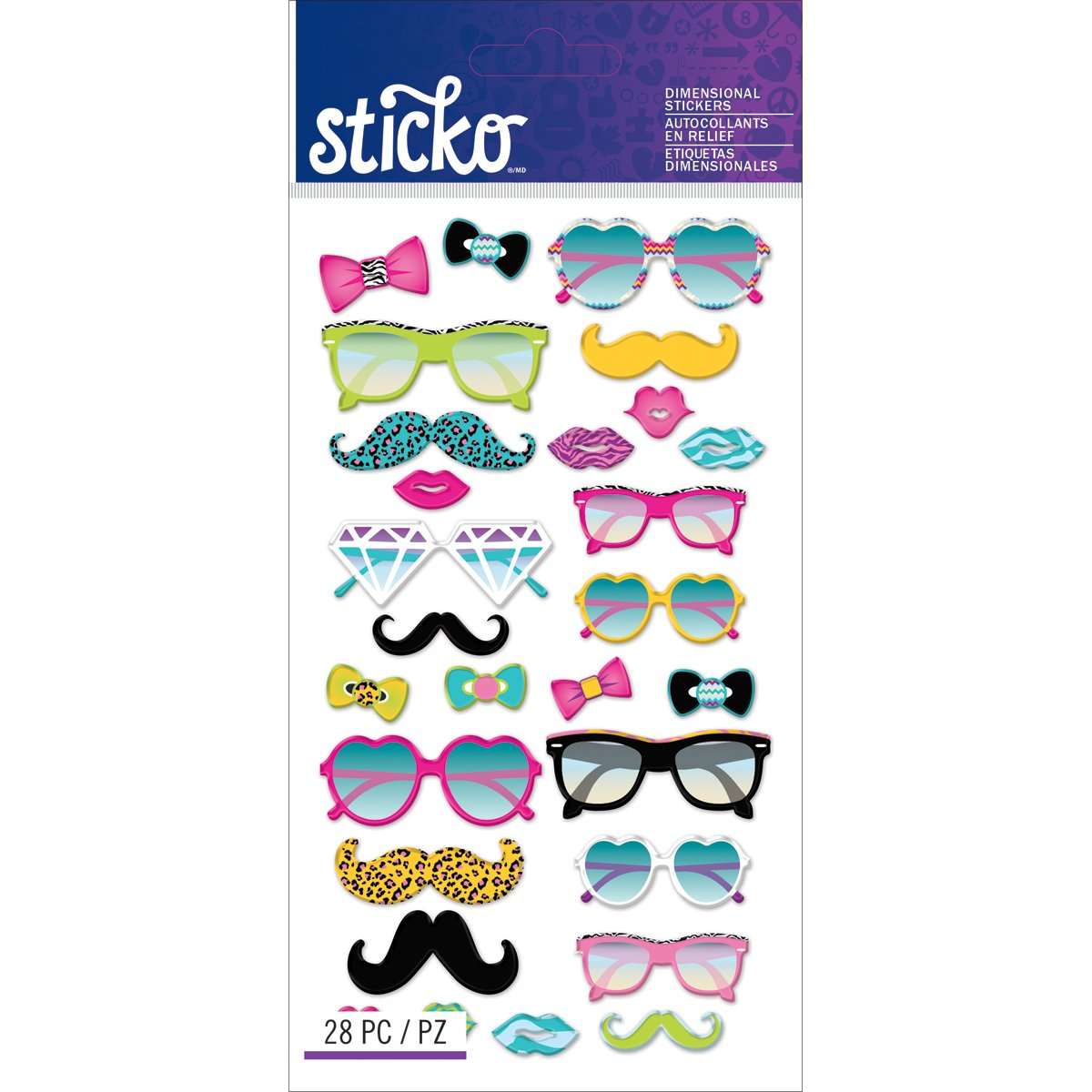 低価格 Sticko B00YD0AZ0S Glasses &シェードステッカー Sticko Glasses B00YD0AZ0S, ニシメマチ:0cec9033 --- mvd.ee