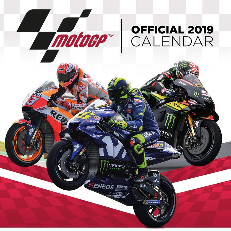Close Up Moto GP Calendar 2019