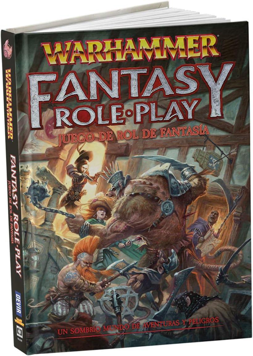 Warhammer Juego de Rol de Fantasía (Devir WFBASICO): Amazon.es ...