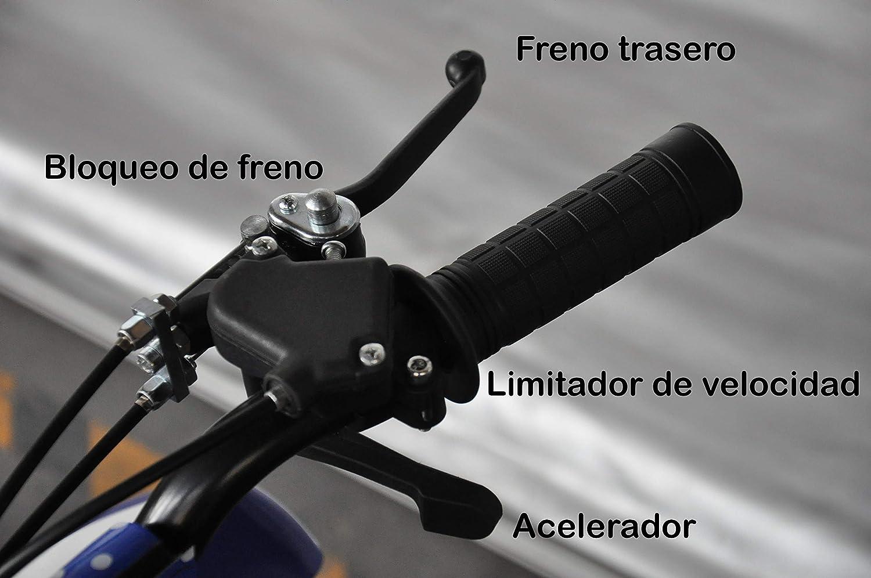 Mini quad Atv013,/per bambini con motore a 2/tempi 49/cc