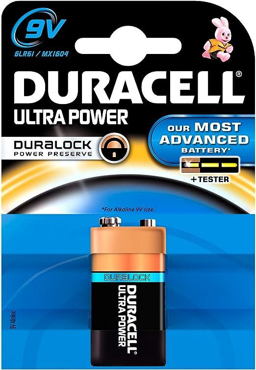 10 X Duracell Ultra Power Mx1604 9 V 6lr61 1 Blister Pack Bürobedarf Schreibwaren