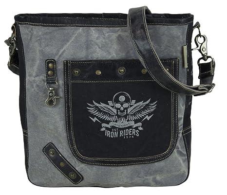 Bolso de compra señora Sunsa Canvas Bolso de hombro bolso de mano hecho de tela /. Pasa ...