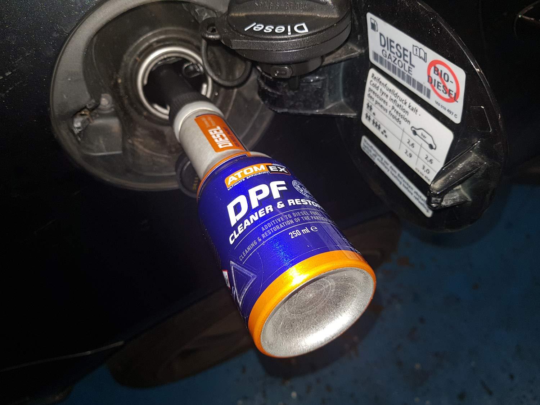 Limpiador del filtro de particulas de diésel de XADO para filtro DPF limpiador de aditivos de combustible, atomex: Amazon.es: Coche y moto