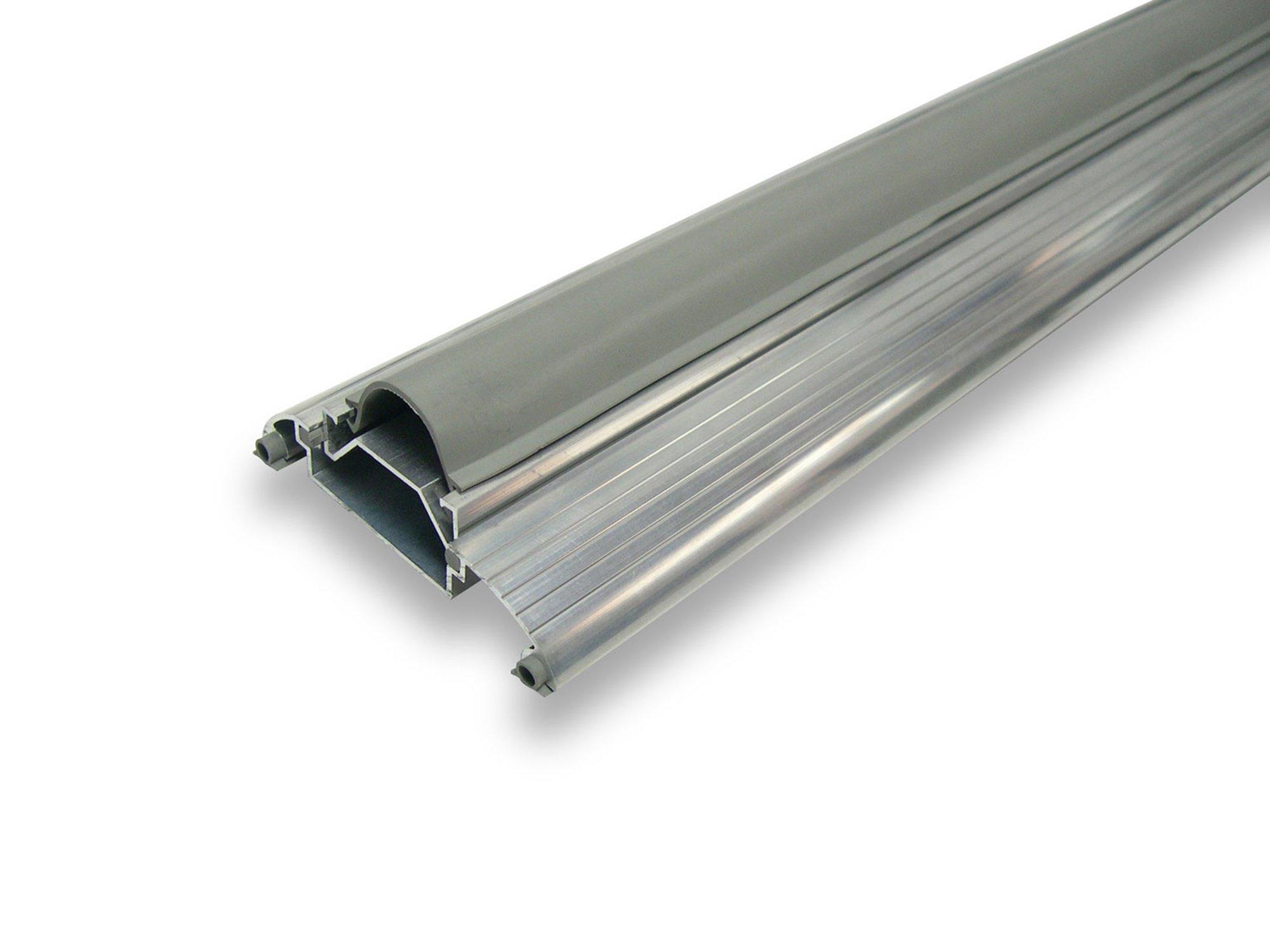WJ Dennis & Company 653 Adjustable Threshold, 3 1/2-Inch W x 13/16-Inch-19/16-Inch H x 36 1/2-Inch L, Aluminum & Vinyl