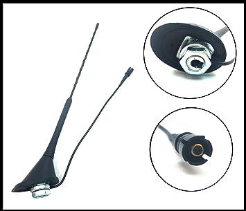 AM/FM antena antena techo Base de mástil para VW Polo Golf ...