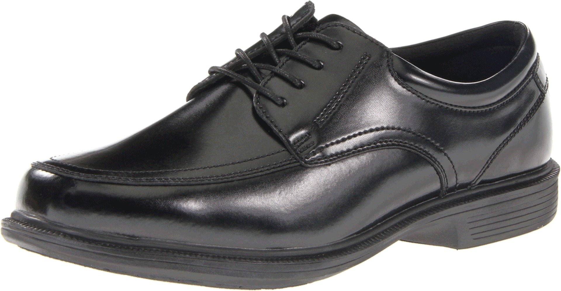 Nunn Bush Men's Bourbon Street Moccasin Toe Oxford KORE-Slip Resistant Dress Casual Lace Up