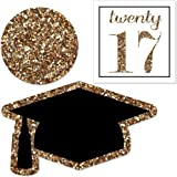 Gold Tassel Worth The Hassle - DIY Shaped Graduation Party Cut-Outs - 24 Count