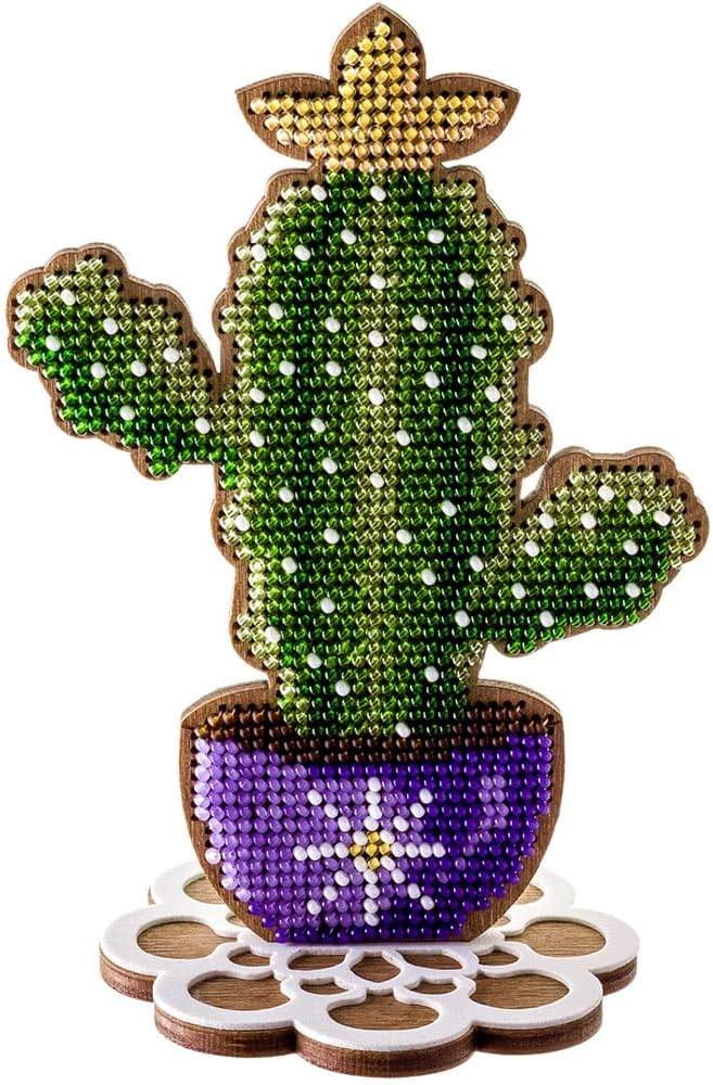 Christmas Eve DIY bead embroidery kit needlework craft set beaded stitching room wall decor housewarming gift idea