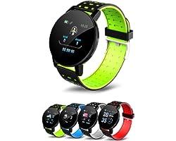 Relogio Smartwatch, Smart Watch 119S Homens Mulheres Pressão Arterial À Prova D 'Água Esporte Redondo Smartwatch Smart Clock