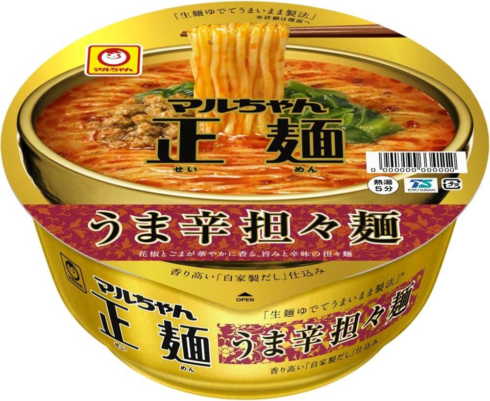 大山即席斎選出_第7位:東洋水産『マルちゃん正麺 カップ うま辛担々麺』
