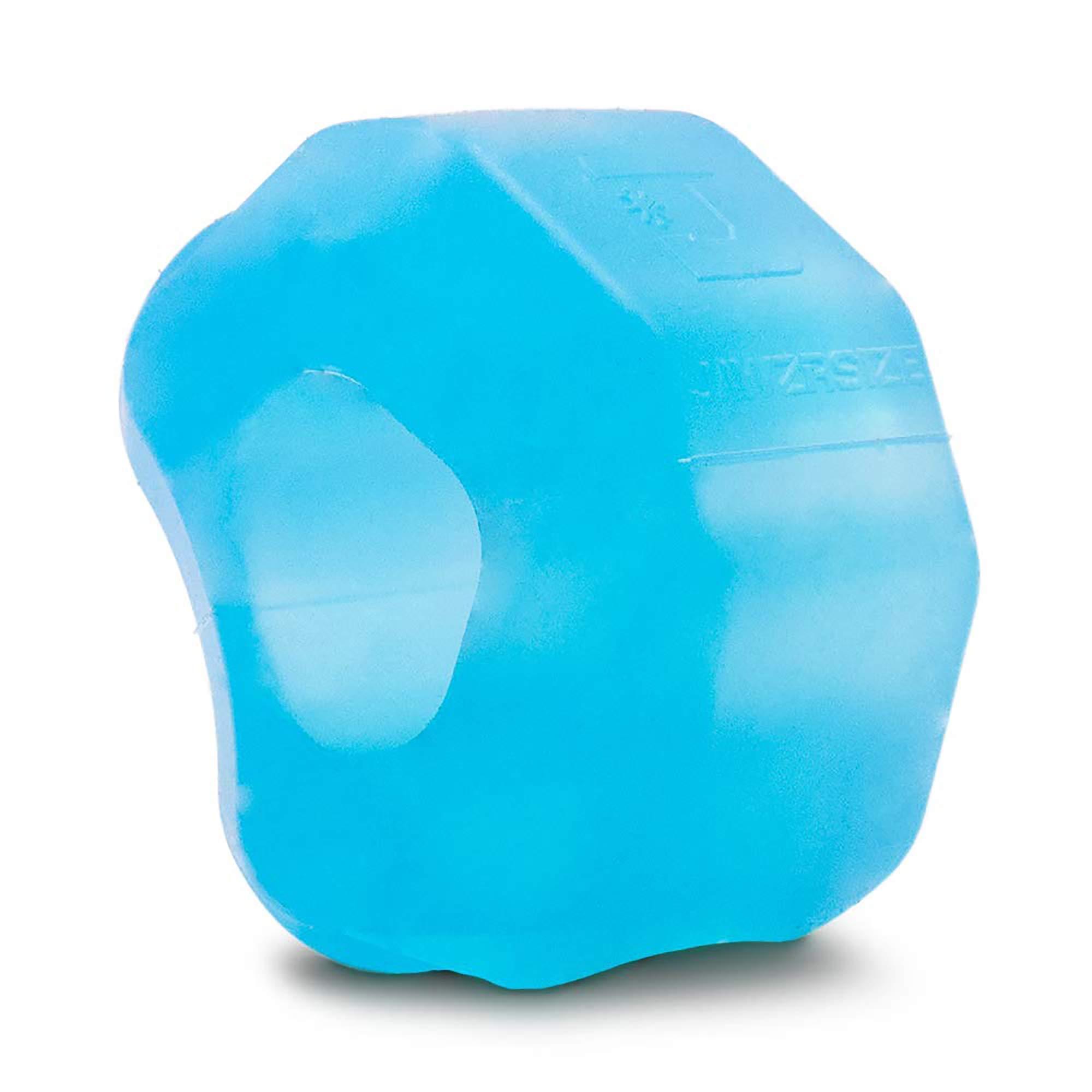 Jawzrsize Pop N Go Facial Toner, Jaw Exerciser And Neck Toning Equipment - Jawline Exerciser, Double Chin Reducer, Face Slimmer and Neck Toning Face Workout (Beginner, Blue)