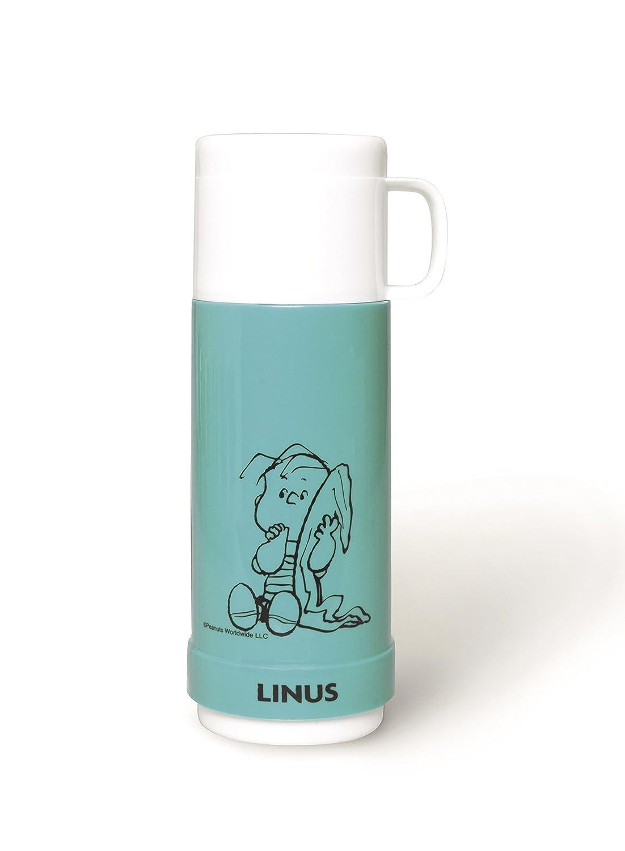 Excelsa Peanuts Thermos Snoopy, Plastica, Verde, 10x9x25 cm Bergamaschi & Vimercati 50439 50439_Verde
