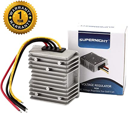 Waterproof 36V to 12V 10A 120W Voltage Converter Adapter Power Supply