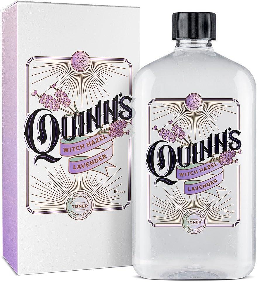 Quinn's Alcohol Free Lavender Witch Hazel with Aloe Vera 16oz