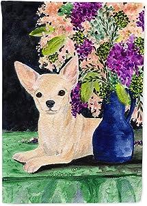 Caroline's Treasures SS8289GF Chihuahua Flag Garden Size, Small, Multicolor