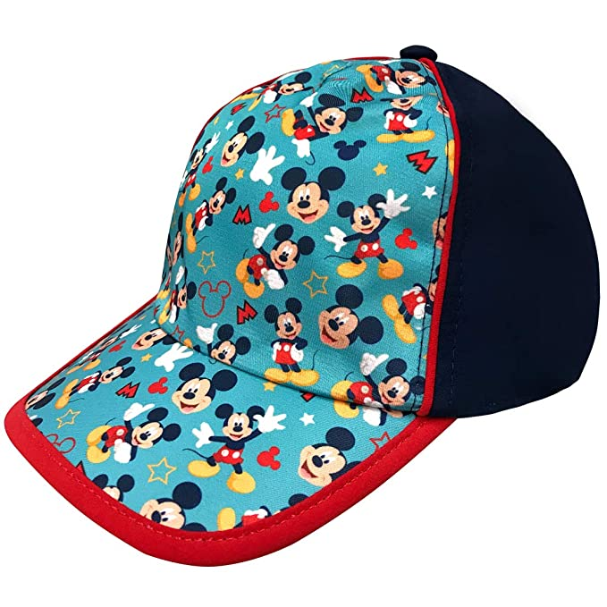 d3d11b6fe99c11 Image Unavailable. Image not available for. Color: Disney Boys Mickey Mouse  Baseball Cap ...
