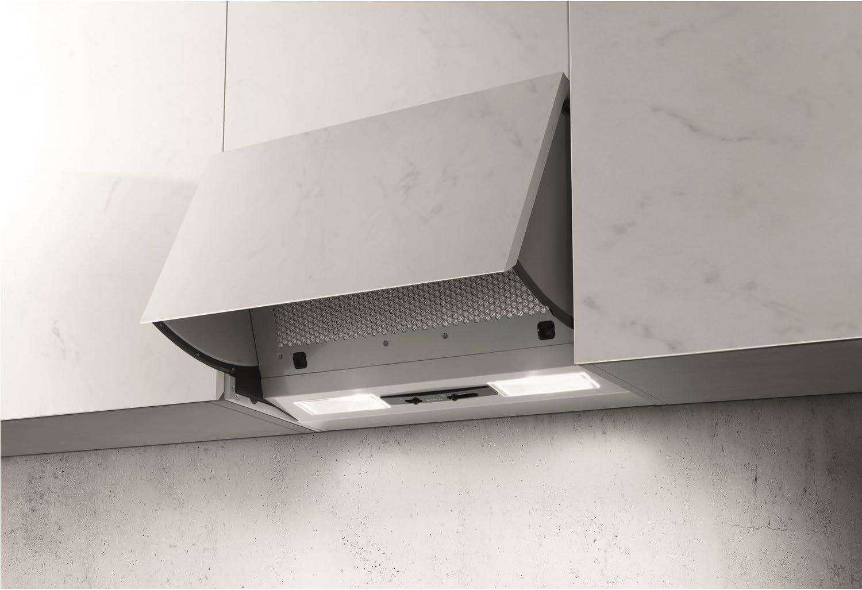 Elica int-ng-sp Integrata 60 cm integrado campana gris: Amazon.es: Hogar