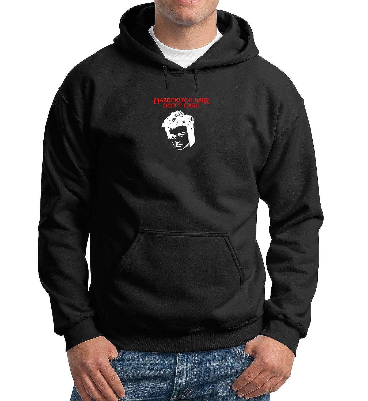 MTNACLOTHING Harrington Hair Don't Care_MA3260 Hoodie Hoody Sweater - Black
