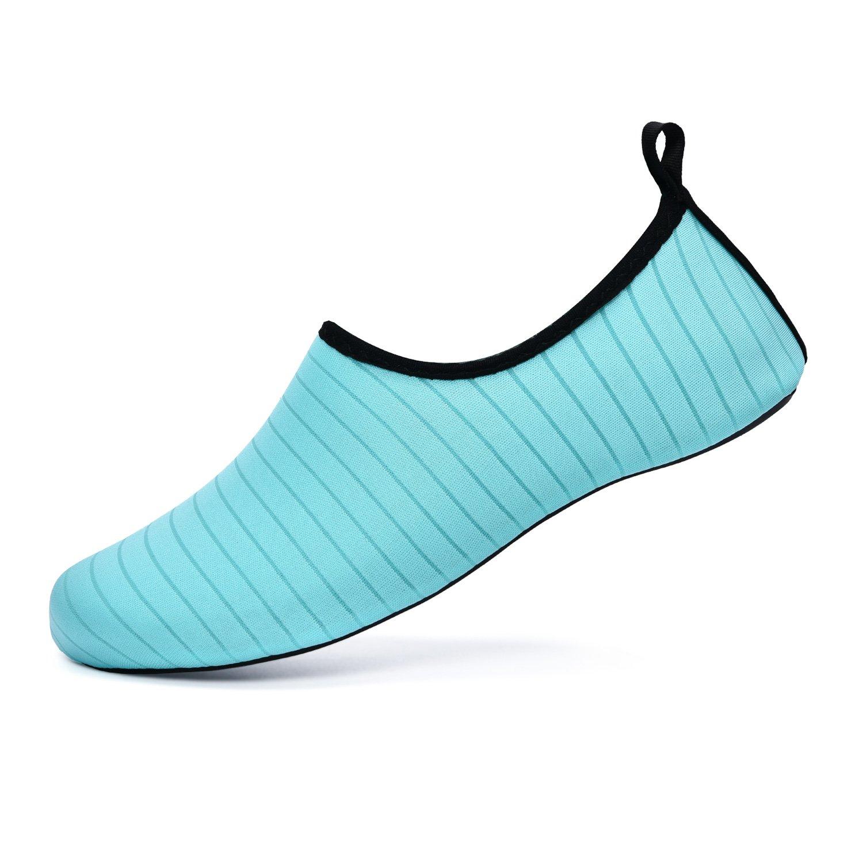 AVADAR Water Shoes,Men Women Water Shoes Barefoot Quick Dry Aqua Shoes for Swim Walking Yoga Lake Beach Boating(Thin-Sole).