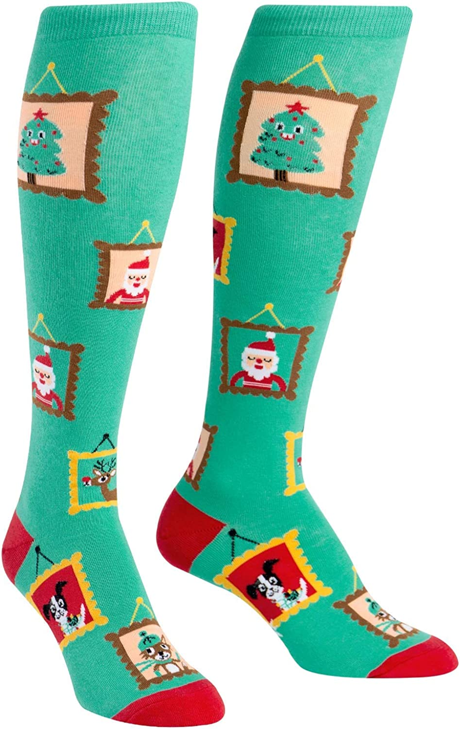 SOCK IT TO ME KNEE HIGH SOCKS TACKY HOLIDAY SWEATER
