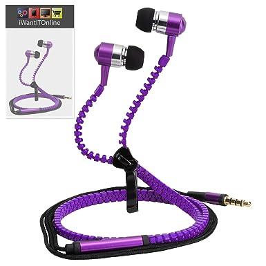 IWIO Cubot Cheetah 2 Color Morado Premium auriculares con cable ...
