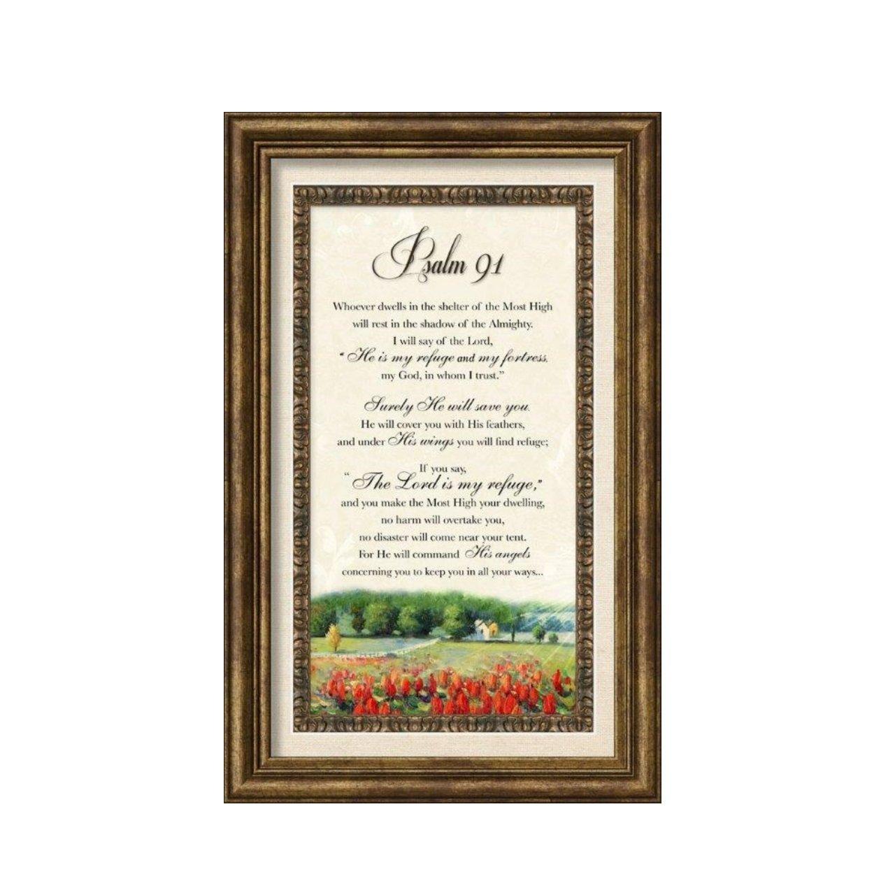 Carpentree 12137 Psalm 91 Classic Framed Art