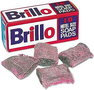 product image for Brillo SP1210BRILLO Hotel Size Steel Wool Soap Pad, 10/box, 120/carton