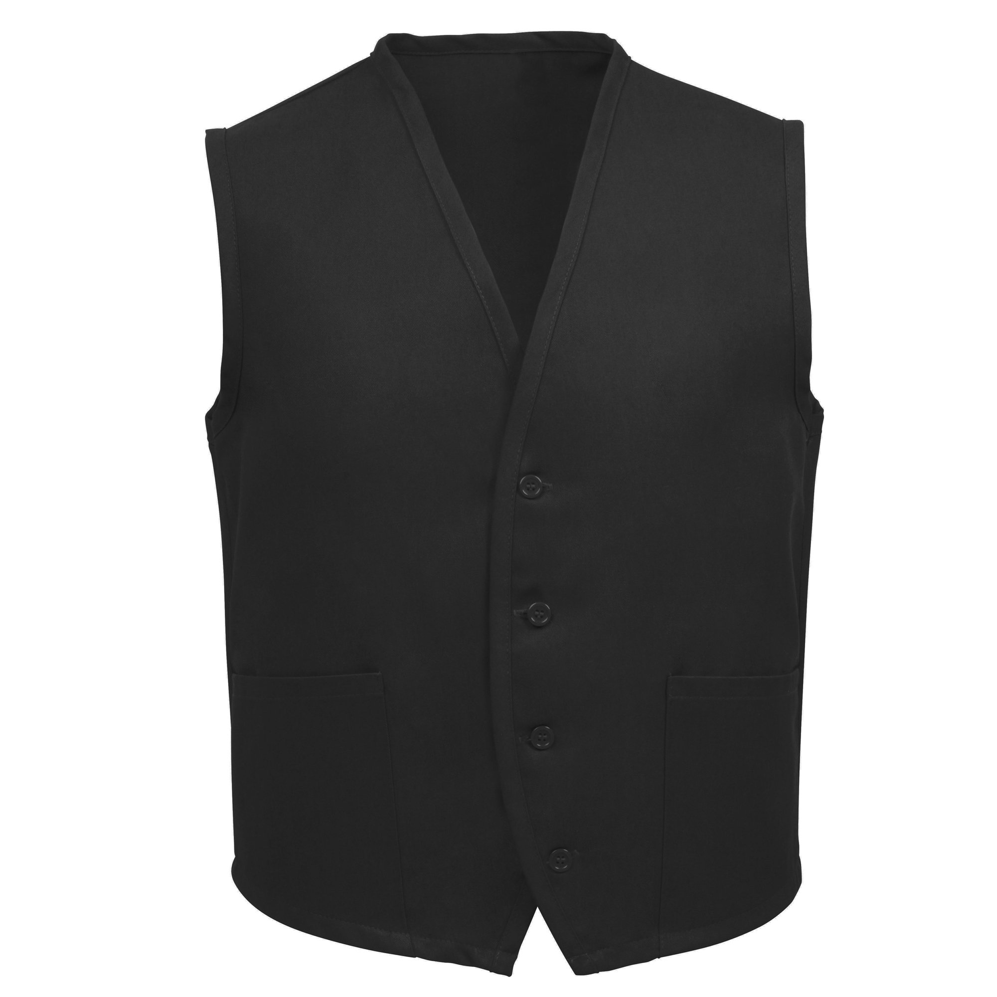 FAME 2 Pocket Vest (Black-Medium) K72-23324 by FAME