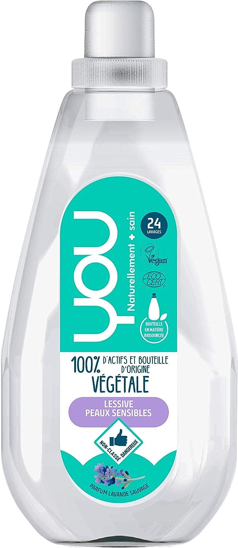 YOU - Detergente líquido ecológico 100% vegetal perfume lavanda ...