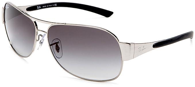 410f8b5dce1 Ray-Ban Gafas de sol Para Hombre RB3404-003 8G  Plata - 62mm  Amazon.es  Ropa  y accesorios