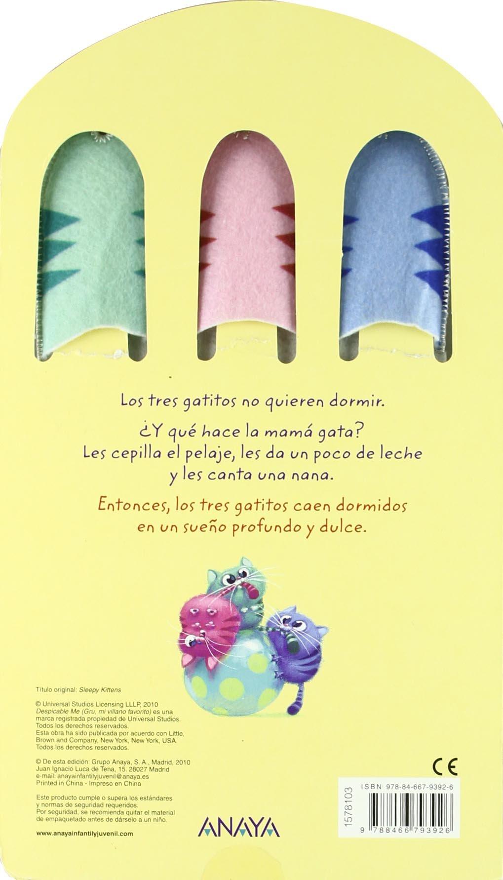 Los gatitos dormilones / Sleepy kittens (Spanish Edition): Cinco Paul, Ken Daurio, Eric Guillon: 9788466793926: Amazon.com: Books