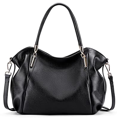 15552d5d46d7 Amazon.com  Vatan Women s Vintage Genuine Leather Handbag Daily Work Tote  Shoulder Bag Large Capacity  Shoes