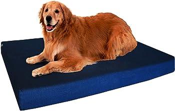 Dogbed4less Orthopedic Memory Foam Dog Bed