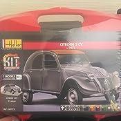 2 CV 1:43 Bausatz Model Kit Art Heller Citroen 2CV 80175