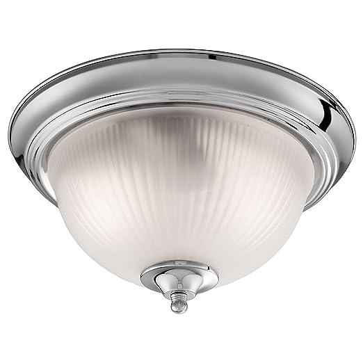 Bathroom flush ceiling light satin silver with opaque ribbed glass bathroom flush ceiling light satin silver with opaque ribbed glass 4042 mozeypictures Choice Image