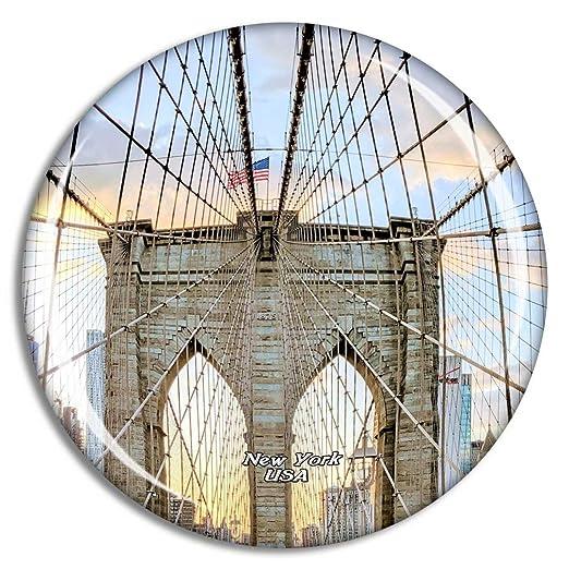 Weekino Estados Unidos América Puente de Brooklyn Nueva York NY ...