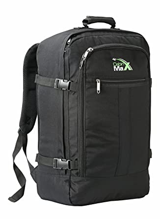 7648a2dcaf20 Cabin Max Metz Backpack Flight Approved Carry on Bag 44 Litre Travel Hand  Luggage - 55x40x20