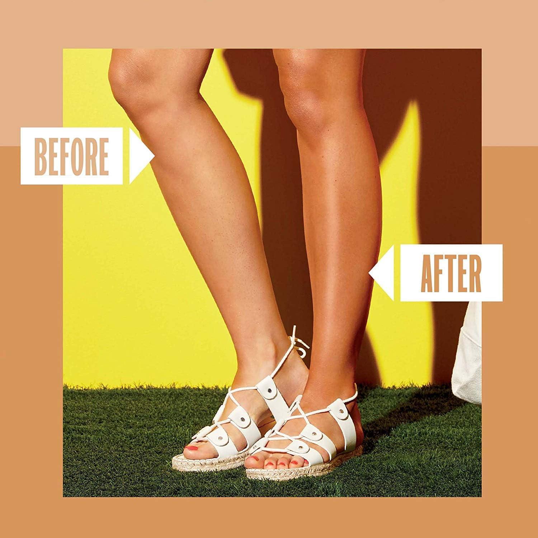 Sally Hansen Airbrush Legs Maquillaje para piernas Loción Tono 002 Claro - 118 ml