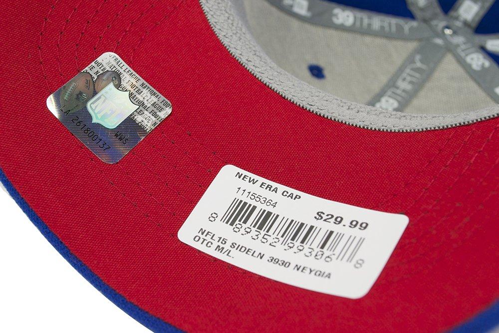 cheap sale detailing uk availability Amazon.com : New York Giants 2015 NFL Sideline 39THIRTY Flex Fit ...